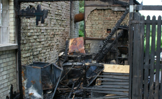 Parndon Mill Fire Damage